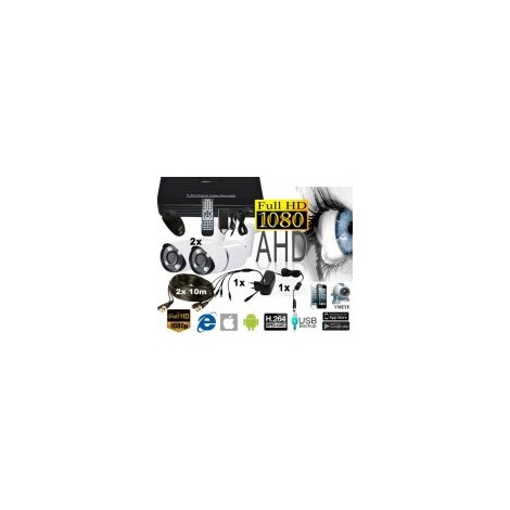 CCTV-IDENTIVISION AHD-2IRWFV EX-HD1080P-2MP FULLHDvarifokal