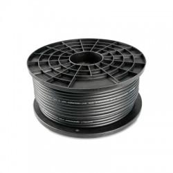 Koaxiálny kábel Zircon CU 125 ALPE čierny -  pre AntikSAT