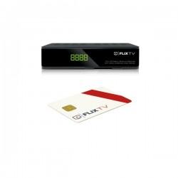 FlixSET Satelitný prijímač Flix TV + flexibilná karta