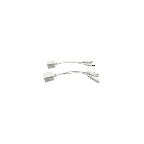 POE pasivne - sada káblov (injector a splitter)