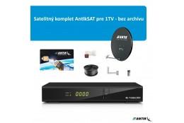 Satelitný komplet AntikSAT pre 1TV - bez archívu