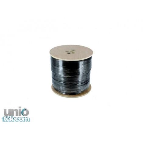 Koaxiálny kábel UNIO RG6 čierny