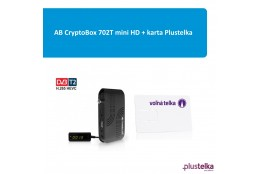 AB CryptoBox 702T mini + karta Plustelka