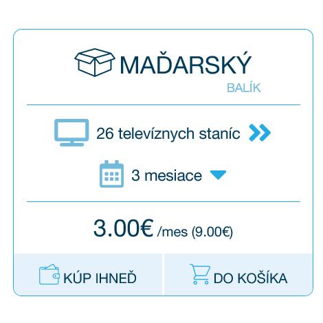 Maďarský balík AntikTV