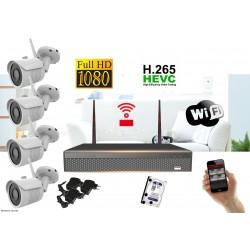 Wifi IP kamerový set FullHD 1080p 4 x kamera