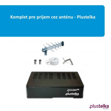 Komplet pre prijem cez anténu - Plustelka