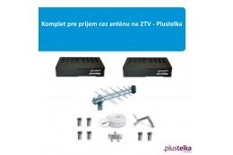 Komplet pre prijem cez anténu na 2TV - Plustelka