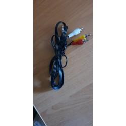 Kabel av jack - 3x cinch rca pre Antik