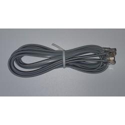 Telefónny kábel, RJ11 konektor - RJ11 konektor 2m
