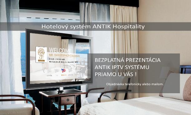 Hotelový systém ANTIK